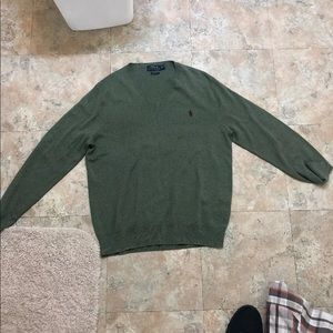 Polo Ralph Lauren Pima Cotton V-Neck Sweater M